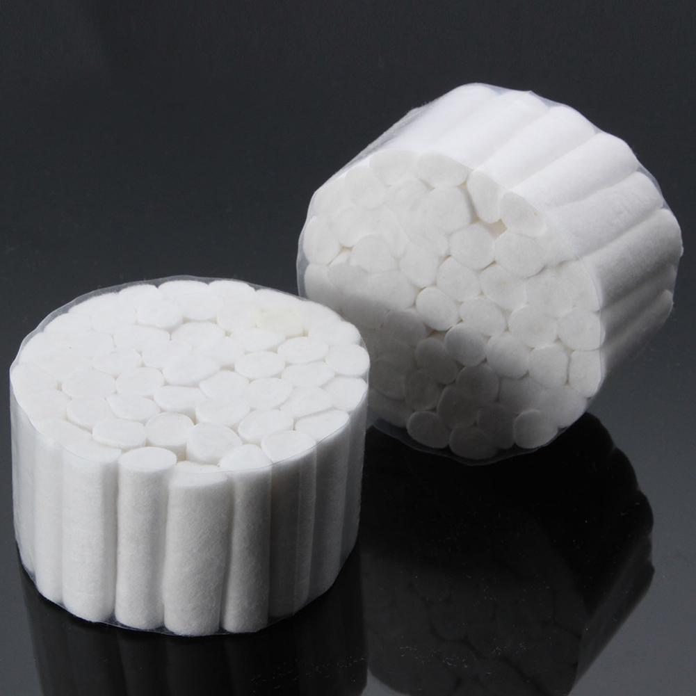 5Pcs Disposable Cotton Rolls Clinic Dental Treatment Absorbent Medical Supplies Cotton Swabs Oral Health