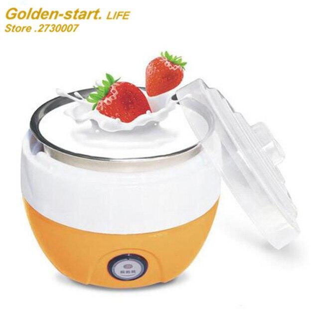 Multifonction Yogourt Machine Mini Automatique Yaourtière Iogurte  Multivarka Électrique Appareils De Cuisine Petit Déjeuner
