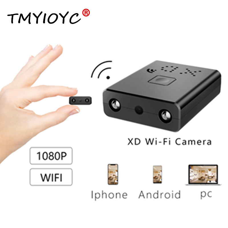 La plus petite Mini caméra XD Wifi camara oculta HD 1080 P Vision nocturne Micro caméra IP/AP caméra de détection de mouvement Mini caméra secrète Kamera