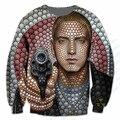 Новая Мода Мужская/Женская Eminem Забавный 3D Печати Толстовка S, M, L, XL, XXL 3XL 4XL 5XL