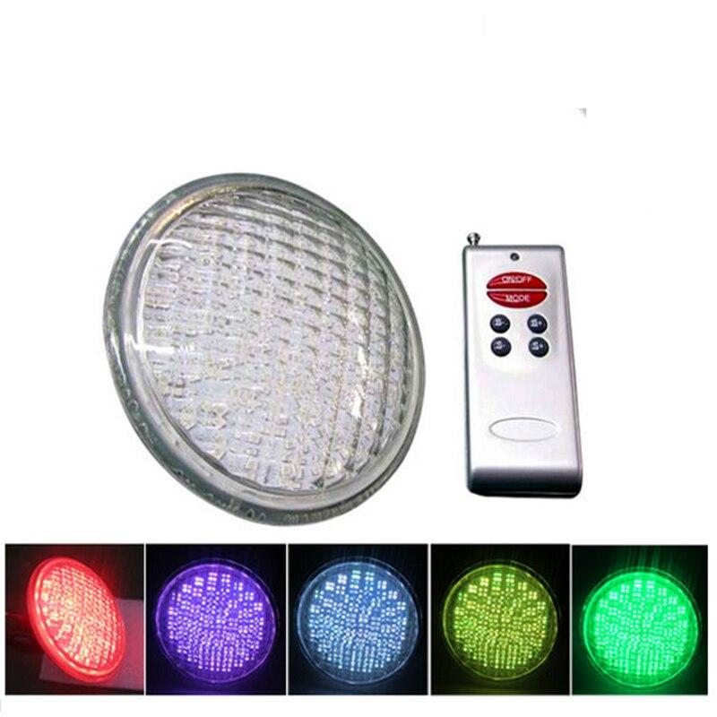 Livraison gratuite LED Par56 lampe, LED lampe de piscine, 18 W IP68 lampe sous-marine pour piscine et fontaine LPL-Par56-18W