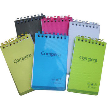 Comix Notebook stationery coils A7 candy color Notepad page portable book. candy evogt 12072 d page 3