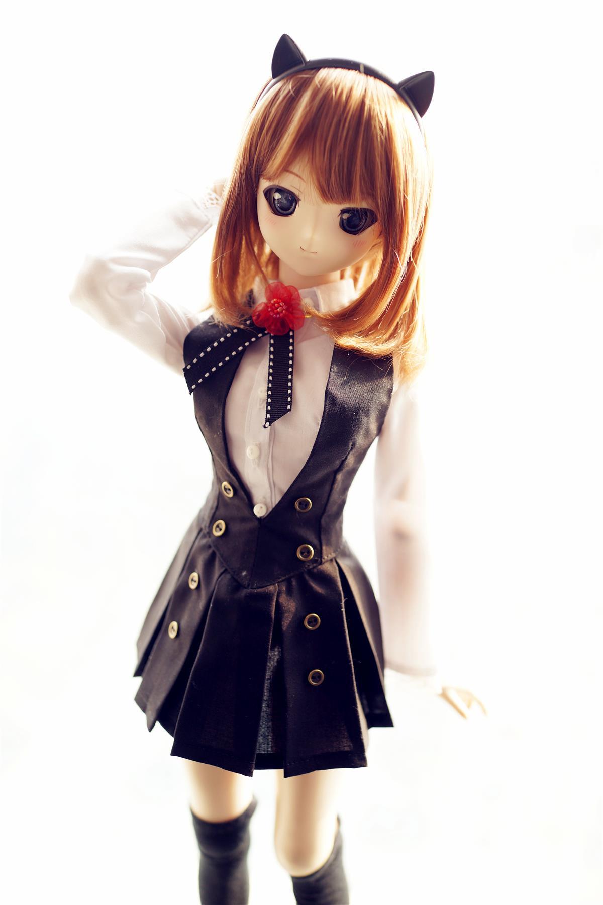 estartek 1 3 customized full hand made sexy japan anime cosplay fox set for bjd sd dd doll. Black Bedroom Furniture Sets. Home Design Ideas