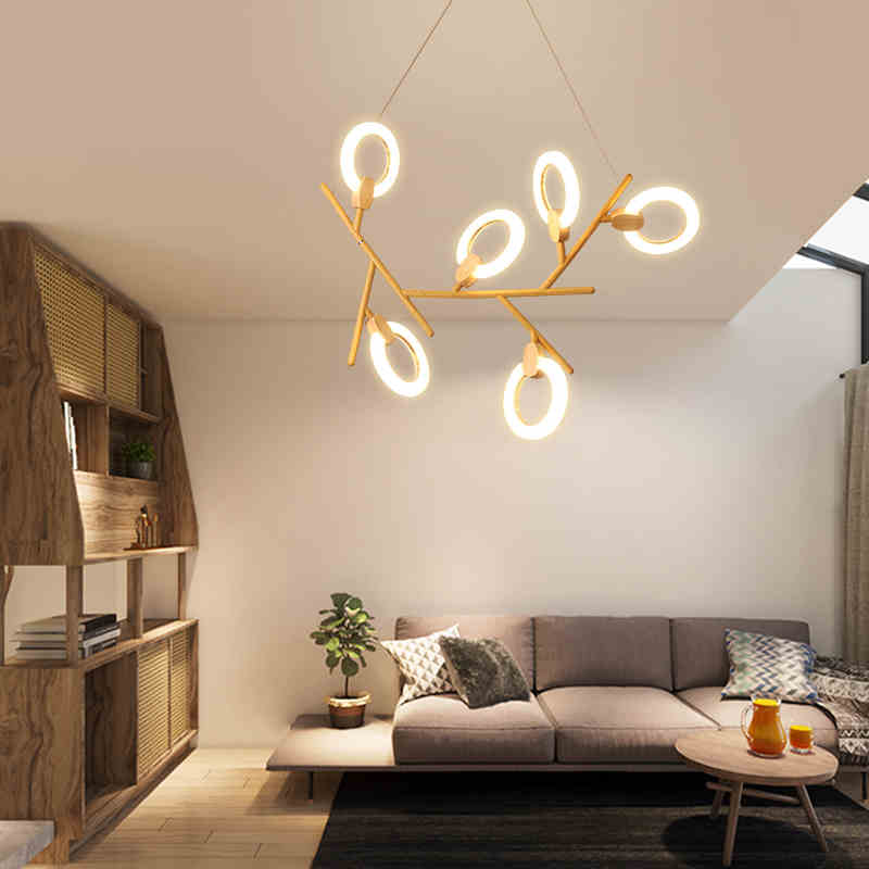 Modern LED chandelier ceiling Nordic illumination bedroom suspended lamps home deco lighting fixtures living room hanging lightsModern LED chandelier ceiling Nordic illumination bedroom suspended lamps home deco lighting fixtures living room hanging lights