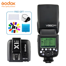 цена Godox Ving V860II V860II-O Speedlite  flash TTL+X1T-O Transmitter Wireless Flash Trigge for Olympus Camera E-M10 E-M5 II E-M1 онлайн в 2017 году