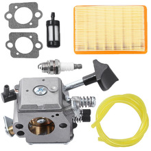 Lawn Mower Carburetor Kit For Stihl BR320 BR340 BR380 BR400 BR420 Backpack Blower Carb Garden Tools Parts цена и фото