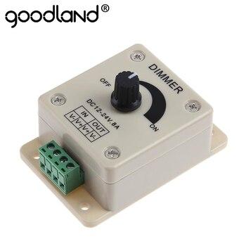 Goodland Voltage Stabilizer 12 V Regulator 8A Power Supply Adjustable Speed Controller DC 12V LED Dimmer DC-DC for Motor - discount item  42% OFF Electrical Equipment & Supplies