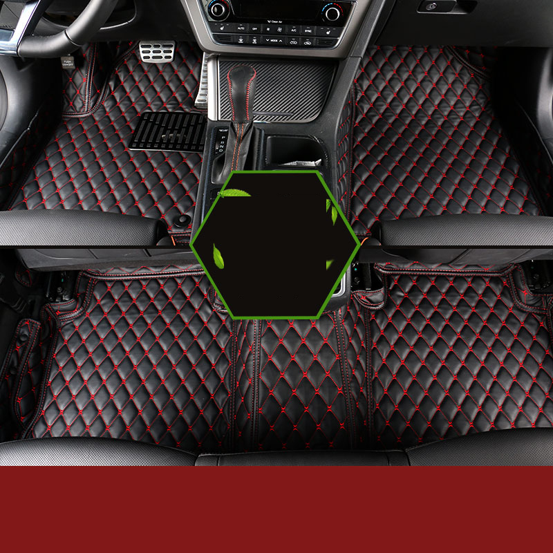 Special Made Foot Case Car Floor Mats For Hyundai Sonata 2016 2017 Carpet Styling Liners