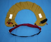 Automatique sauvetage gonflable bouée caries ceinture type gonflable vie gilet gonflable caries manuel
