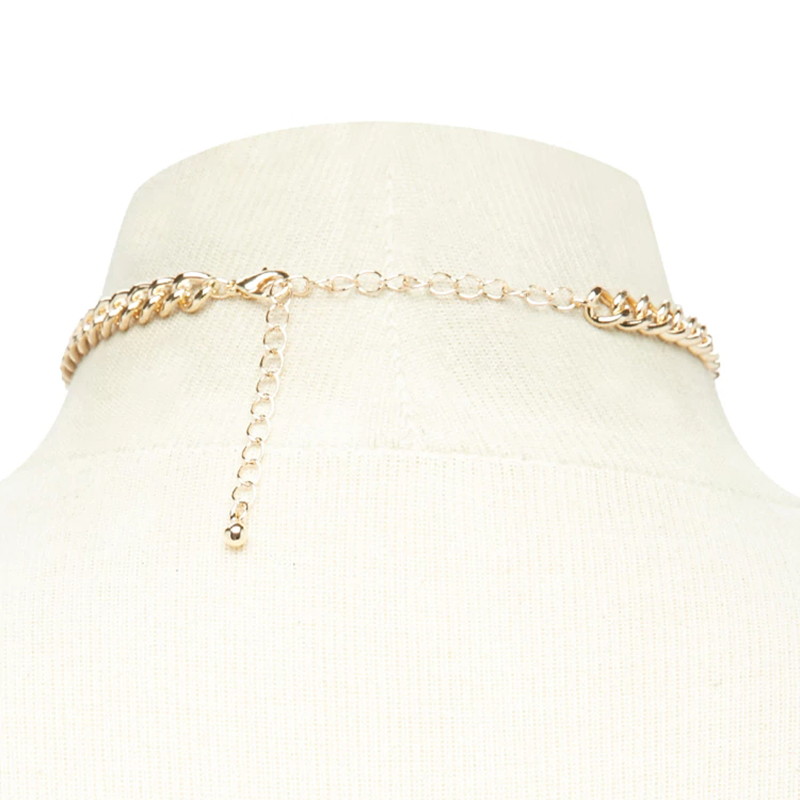 Trendy-Women-Jewelry-Cute-Heart-Lock-Necklace-Gold-Silver-Choker-Necklace-Pendant-On-Neck-Accessories (2)