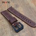 Para samsung gear clássico s3/forntier inteligente pulseira 22mm 24mm substituição couro genuíno relógio de couro bandas straps
