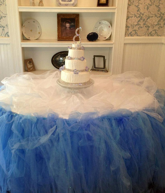 Amazing Champagne Tulle Tutu Table Skirt Candy Buffet Table Skirt Download Free Architecture Designs Ferenbritishbridgeorg