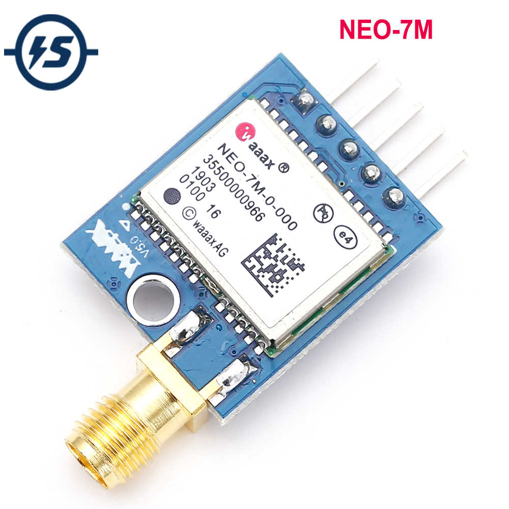 NEO-7M Double Sided GPS Mini Module Satellite Positioning Microcontroller 51 SCM MCU Development Board for Arduino STM32 C51