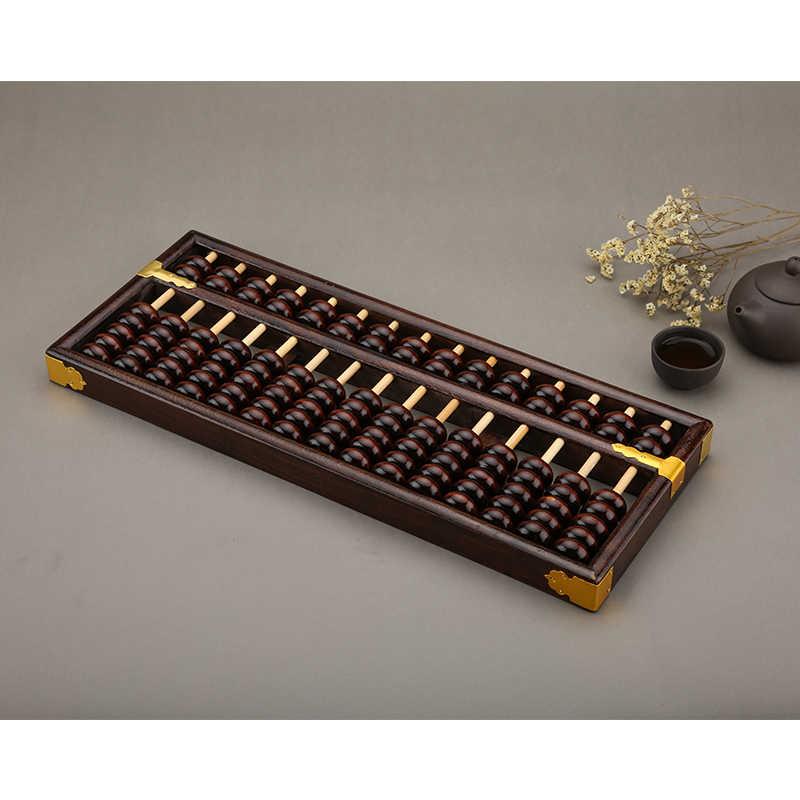 Фото Высокое качество 15 колонна старый деревянный abacus китайский соробан Mathmetic