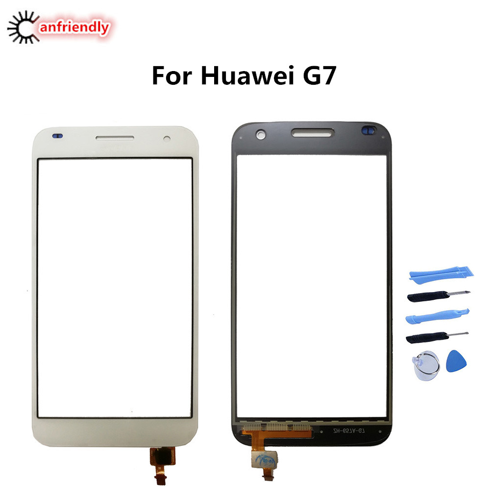 For Huawei G7 G 7 Touch Screen Repair Replacement Panel Phone Accessories Front Glass For Huawei G7 L01 L03 TL00 UL10 UL20 NewFor Huawei G7 G 7 Touch Screen Repair Replacement Panel Phone Accessories Front Glass For Huawei G7 L01 L03 TL00 UL10 UL20 New