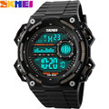 SKMEI Brand digital watches for Men Sports Watches rubber strap LED chronograph waterproof swim Wristwatches  relogio masculino