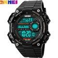 Skmei marca de relojes digitales para los hombres deportes relojes correa de caucho led cronógrafo de natación impermeable relojes de pulsera relogio masculino
