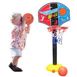 """BOHS ילדים ילדי מיניאטורות כדורסל חישוקי סט עומד Adjujstable עם Inflator צעצועי בנים, 115 ס""""מ, חיצוני כיף וספורט"""