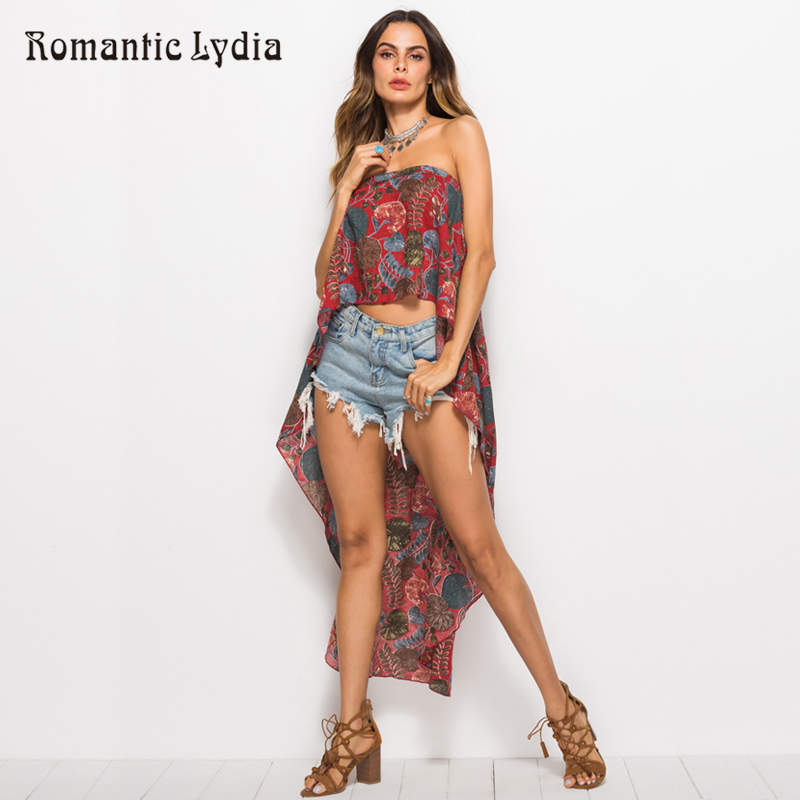Women Long Floral Sexy Casual Summer Off Shoulder Sleeveless Boho Top Bohemian Style New Arrival 2018