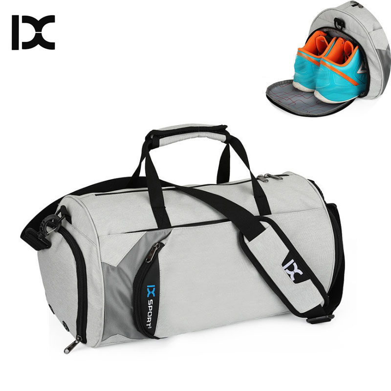 Men Gym Bags For Training BagTas Fitness Travel Sac De Sport Outdoor Sports Swimming Women Dry Wet Gymtas Yoga Bolsa XA103WA(China)