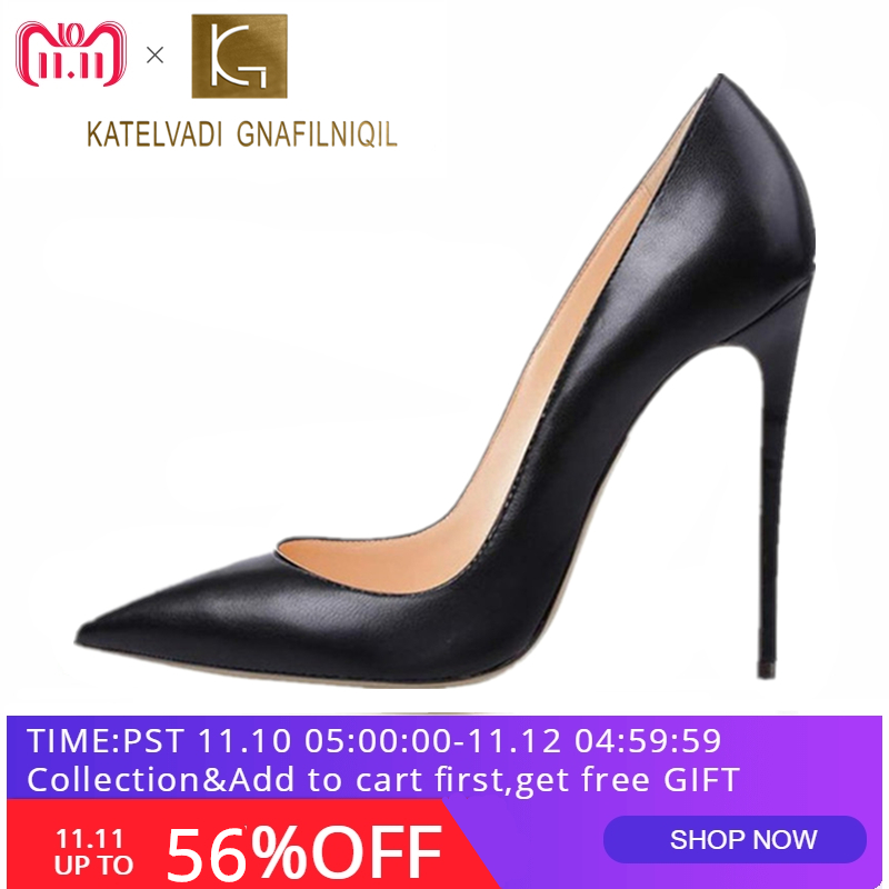 ... Pumps Stilettos Shoes For Women Black High Heels 12CM PU Leather Wedding  Shoes B-0051. В избранное. gallery image 25980ee4a93d