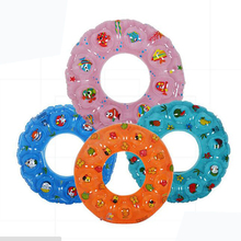 Double Thick Crystal Inflatable Swim Ring Baby Swimming Neck Float Ring Safety
