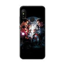 adlucky Iron Man The Avengers Phone Case For Xiaomi Mi A2 lite Charming Spiderman MiA2 lite Cover Case For Xiaomi Mi A2 lite