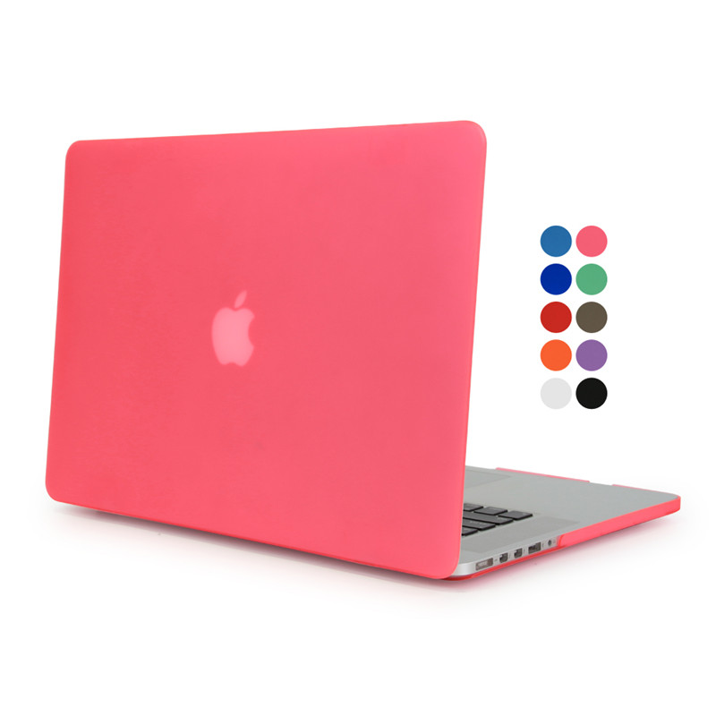 For Macbook air 13 case matte transparent cover for macbook air pro retina 11 12 13 15 laptop protector