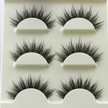 3 pairs /set 3D False Eyelashes