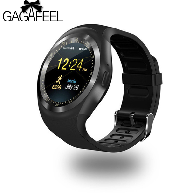 GAGAFEEL Smart watch with Touch Screen camera SD card Bluetooth smartwatch for Android Phone Men woman Clock