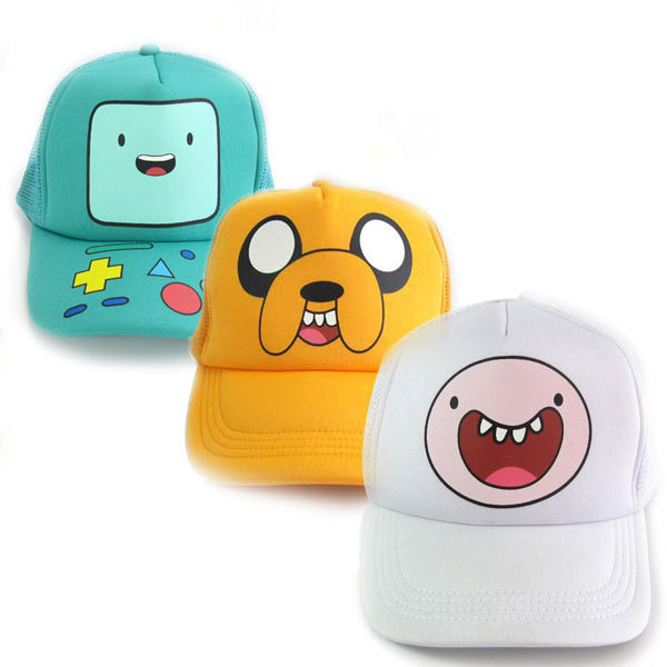 Adventure Time with Finn and Jake action figure toys Cosplay BMO Adjustable Baseball Cap Cute Cartoon Sun Hat For Children Boys fashion colorful short pu wallet purse printed with bmo of adventure time with finn and jake