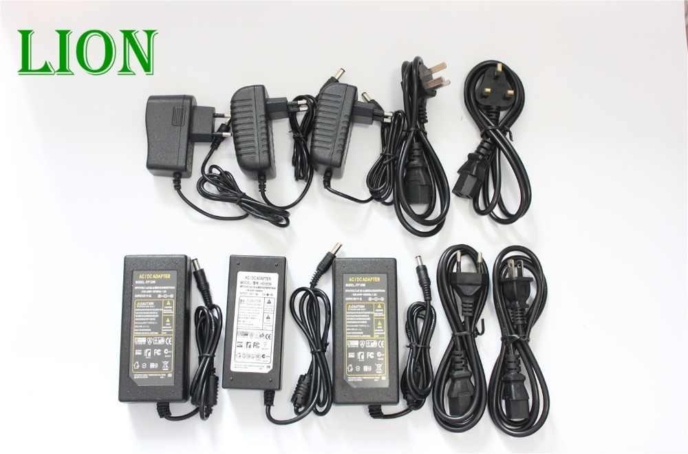 EU/US/UK/AU Netzteil Transformator AC 110-240 V zu DC 5 V 12 V 24 V 1A 2A 3A 4A 5A 6A 7A 8A 10 ALED Streifen Licht Konverter