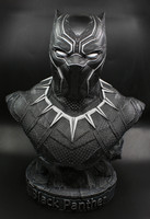 1/2 scale Black Panther Resin Action Figure painted figure Captain America III Black Panther Bust Doll