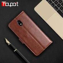Thouport Case For Samsung Galaxy J7 2017 J730 Phone Cover Bags Photo Frame PU Leather For Samsung J7 Pro Case Wallet Flip Retro(China)