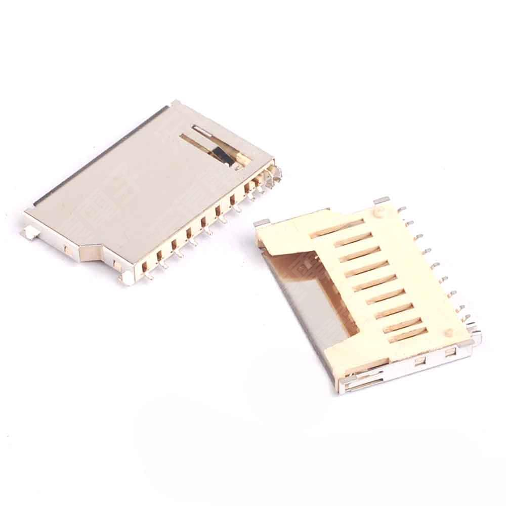 20PCS SD Booth Memory Card Sets Socket SD Card Connector Short Type