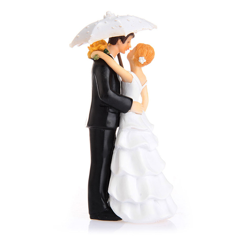 Kissing Wedding Cake Toppers