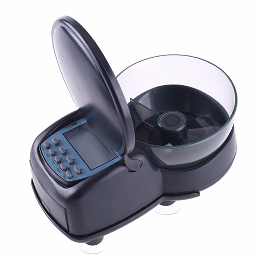Automatic-Fish-Feeder-Black-High-Quality-Mini-Digital-Aquarium-Tank-Fish-Food-Feeder-Timer-Quick-Settings