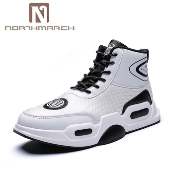 f6be37cc82c NORTHMARCH Autumn Men Shoes New Arrivals Breathable Men Casual Shoes  High-Top Sneakers Men Trainers Footwear Moda Hombre 2018
