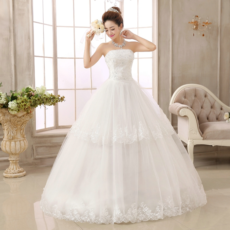 Latest wedding gowns reviews online shopping latest for Brand name wedding dresses