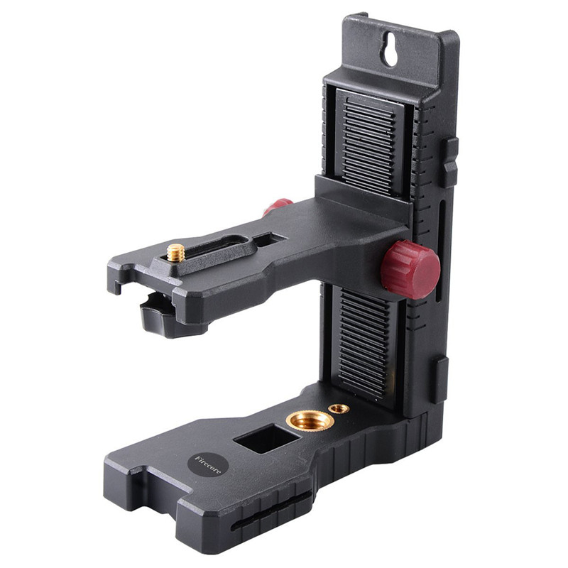 Firecore 1/4 Interface Laser Magnet L-bracket/Tripod Leveling Support for Laser Level firecore 1 4 turn 5 8 universal stainless steel tripod bracket adapter for laser level