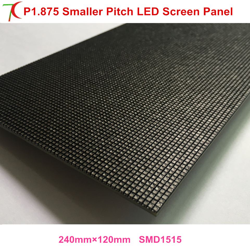 China Mainland Sales P1.875 Indoor Hub-75 Interface Full Color Led Modules For 4k Ultra High Definition Led Screen