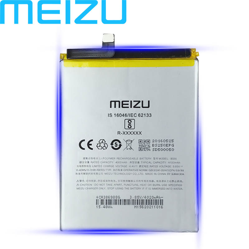 Meizu 100% Original 4100mAh BS25 Battery For Meizu M3 MAX Mobile Phone In Stock High Quality Battery With Tracking Number