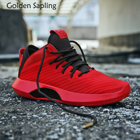 Golden Sapling Mens Basketball Shoes Men's Sneakers Basketball Athletic Sport Shoes Men Breathable Massage Male Sports Sneakers