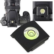 1Pc Hot Shoe Cover Cap Bubble Spirit Level For Canon Nikon Olympus Pentax DSLR