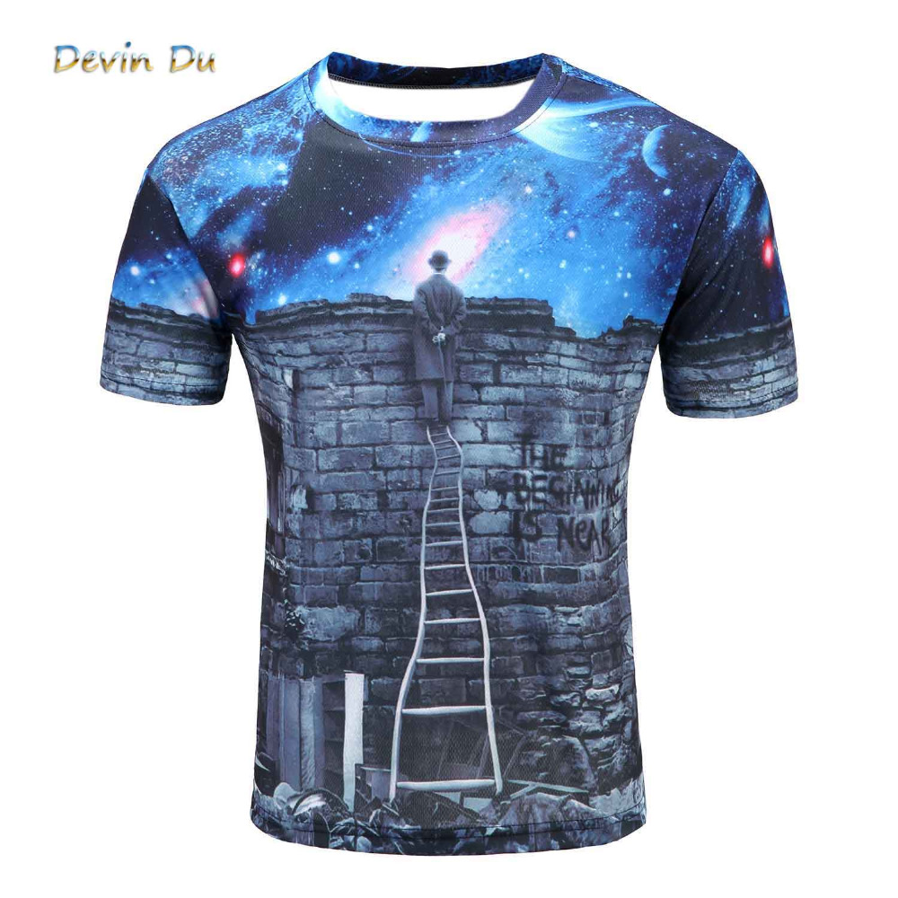 Buy 2017 british style t shirt men summer for Printed t shirts mens fashion