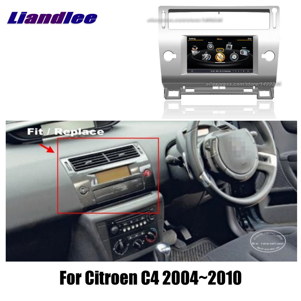 liandlee 7 for citroen c4 2004 2010 car android radio player gps navi maps hd touch screen tv. Black Bedroom Furniture Sets. Home Design Ideas