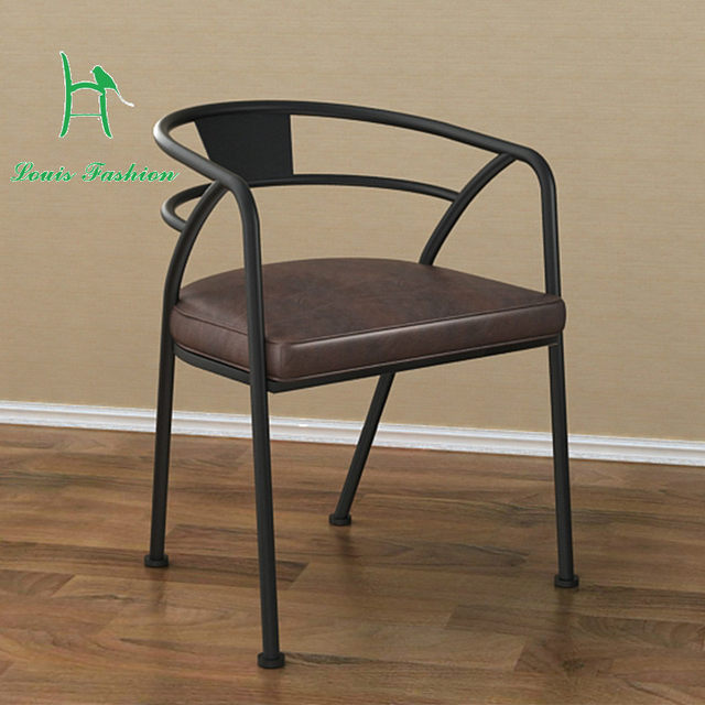 American eat chair restoring ancient ways Industrial and mining wind wrought iron chair backrest cafe chair stool chair staff & Online Shop American eat chair restoring ancient ways Industrial and ...