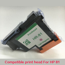 1 PK Light Magenta For HP81 Printhead remanufactured For hp5000  hp5500 inkjet printer for HP81  Ink Cartridge Head  C4955A