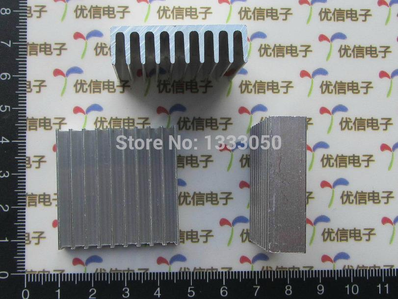 Free Shipping 10 piece Aluminum Heat Sink 35*35*10MM Electrical Accessories free shipping 10 cm75ye13 12f