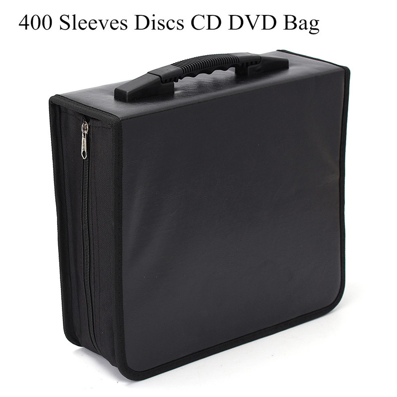 400Pcs Disc CD DVD Wallet Holder DJ Storage Case Bag Album Collect Record Collection Wallet Media Storage Portable Carry Bag 1pcs 40 disc cd dvd case storage holder carry case organizer sleeve wallet cover bag box cd dvd holder dj storage cover